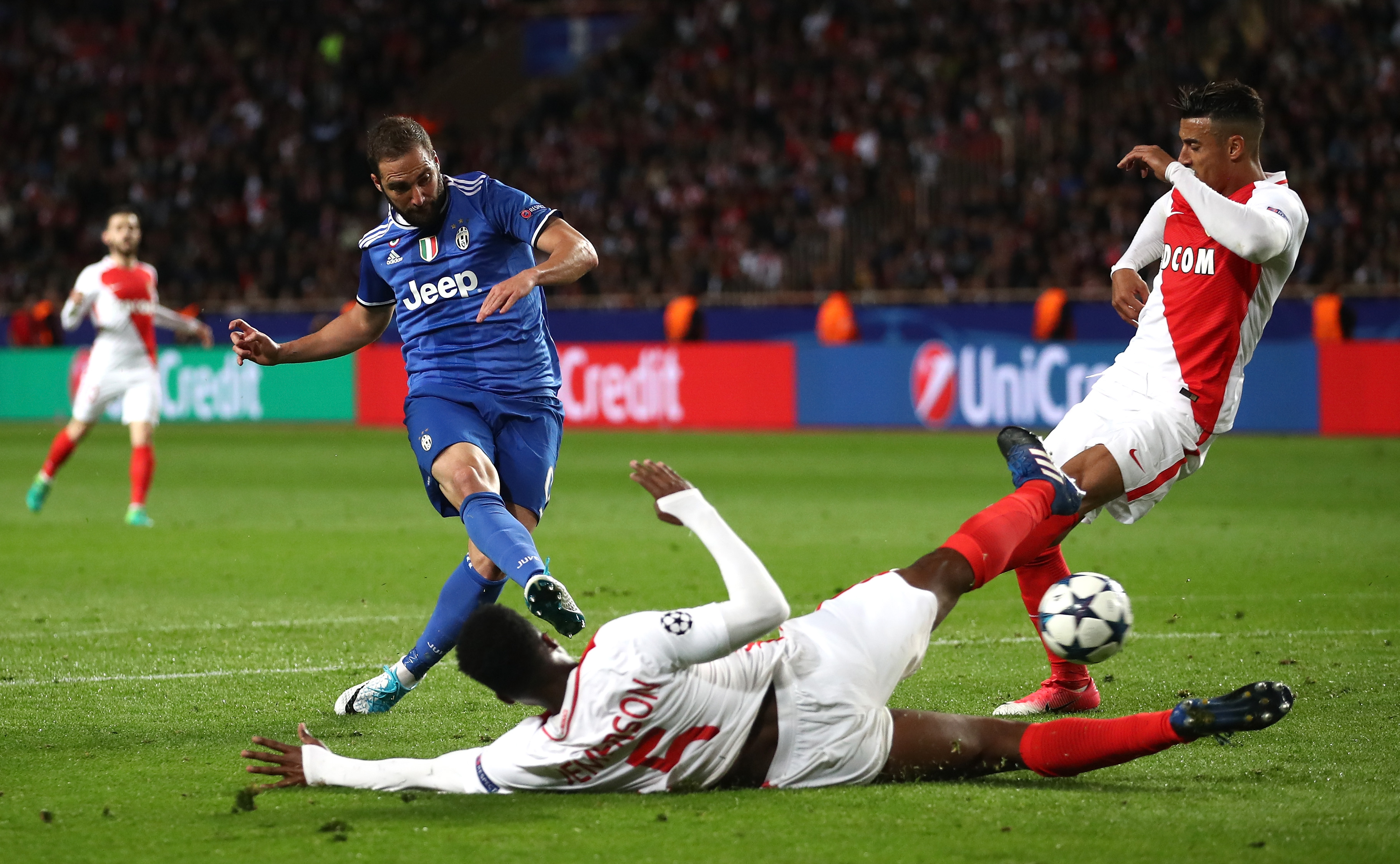Juventus vs AS Monaco