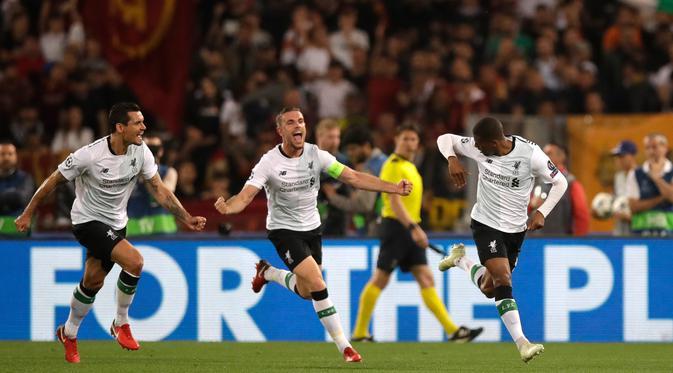 Perjalanan Gila Liverpool di Liga Champions